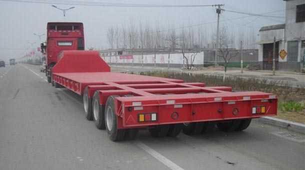16米特种低平板半挂车