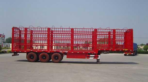 13米畜禽运输仓栏半挂车