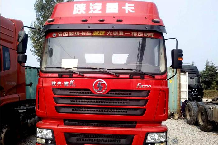 [济宁]2014年12月陕汽德龙F3000双驱380马力2014年库存车
