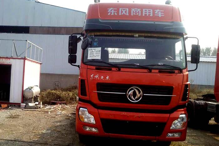 [济宁]2014年3月东风天龙2014年420马力双驱牵引车头