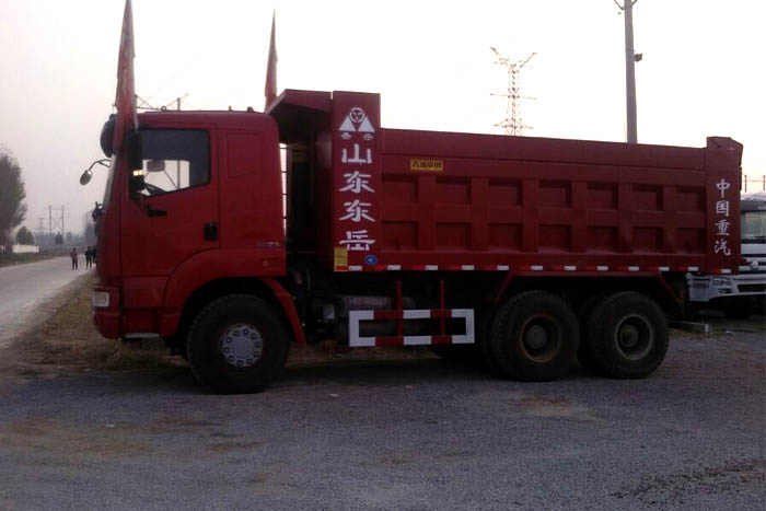 [济宁]2014年2014年库存重汽后八轮336马力自卸车