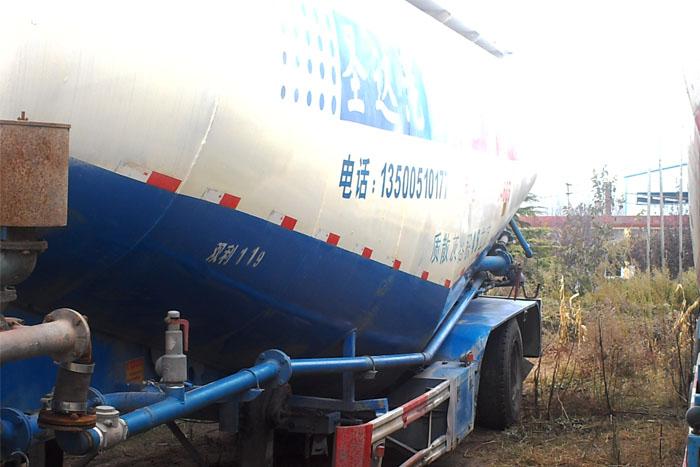 低价45立方散装水泥罐车 有手续实拍图3
