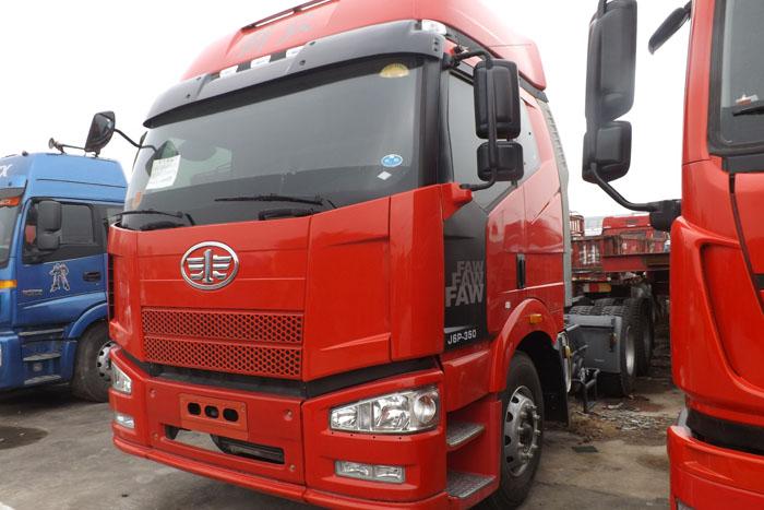 2014年解放J6P双驱350马力牵引车